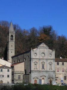 la chiesa dell'Annunziata a Pontremoli