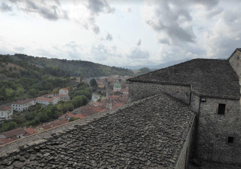 Il castello del Piagnaro veglia su Pontremoli