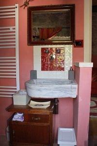 camera la Vite: il bagno