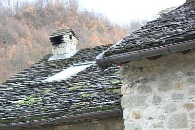B&B Eremo Gioioso: il tetto in piagne
