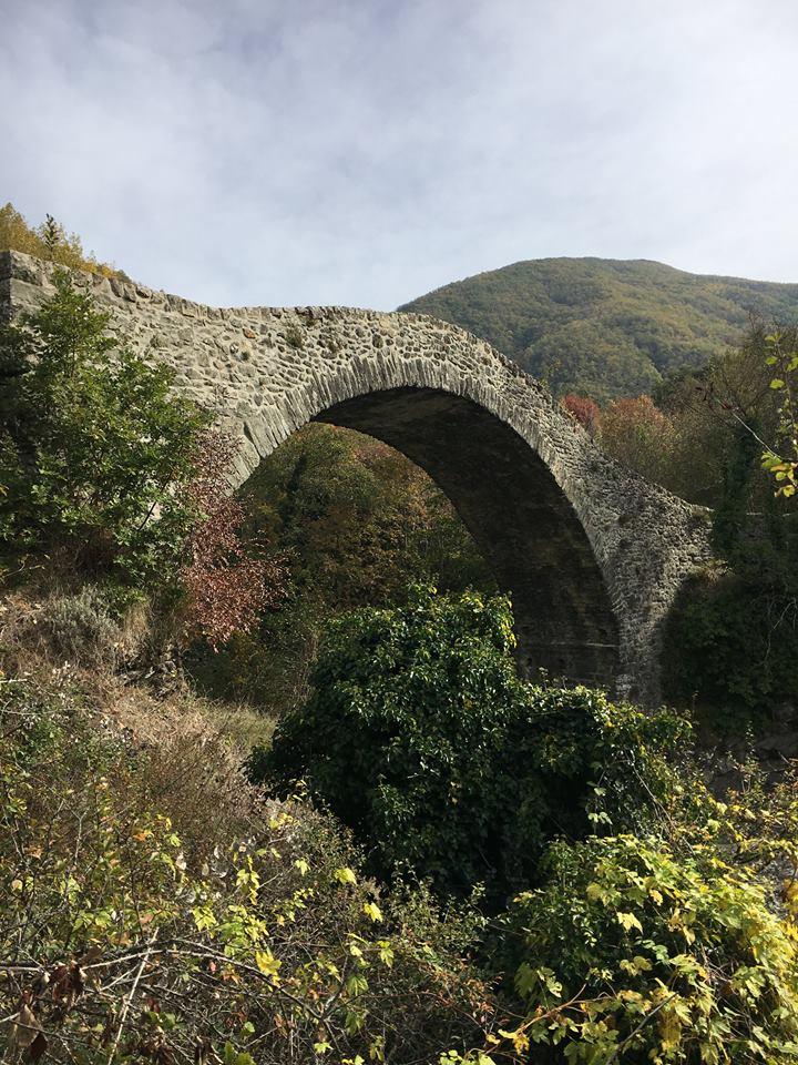 Via Francigena: il ponte di Groppodalosio