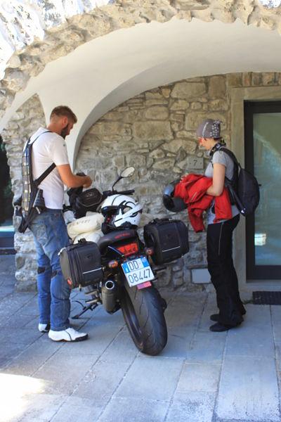 B&B Eremo Gioioso: i motociclisti ripartono