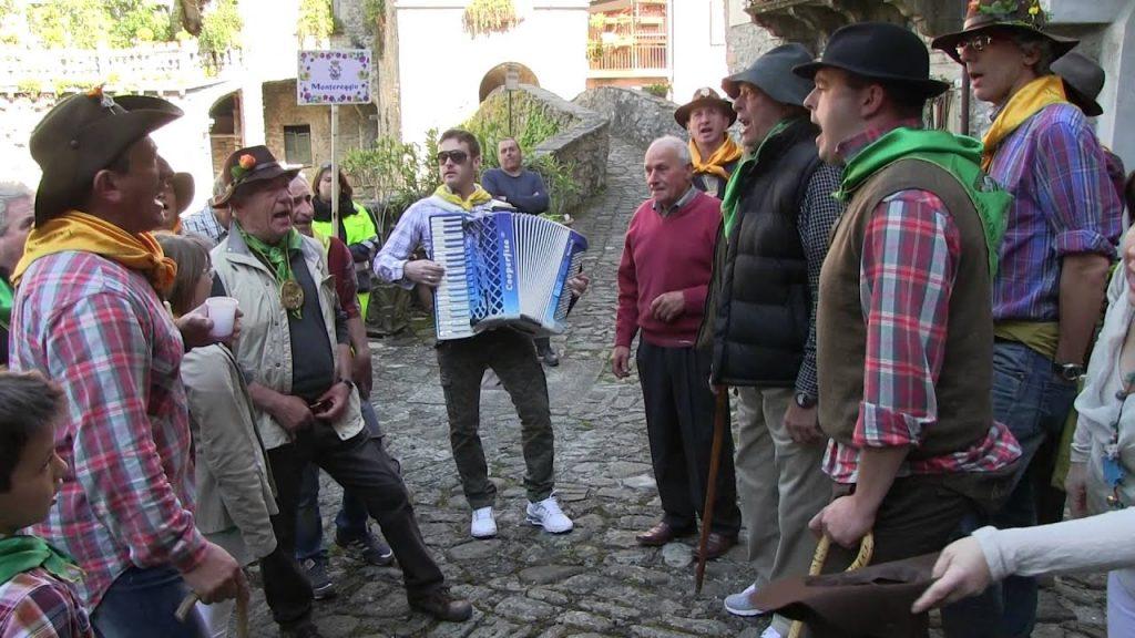 Cantamaggio: maggianti in Lunigiana