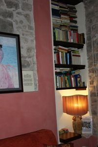 Camera La Vite: la libreria