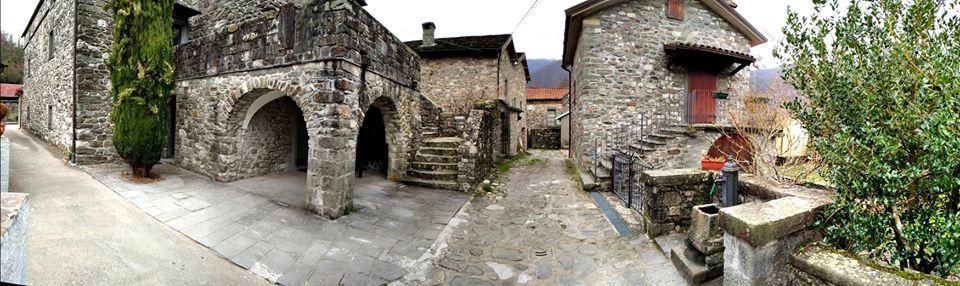 Antico borgo di Previdè: sul percorso ufficiale della Via Francigena
