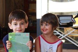 B&B in Lunigiana: il benvenuto di due giovani ospiti
