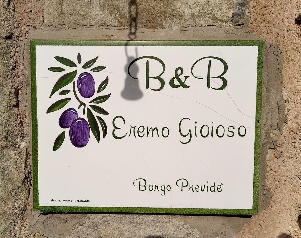B&B a Pontremoli: l'Eremo Gioioso